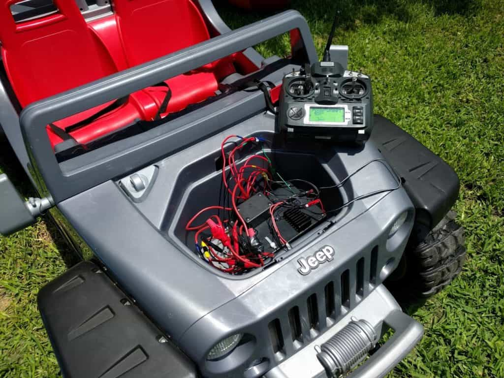 How to upgrade power wheels battery