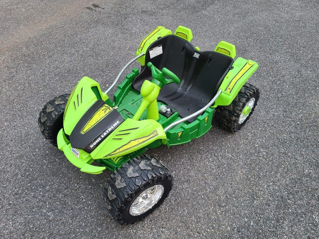 Power wheels speed controller